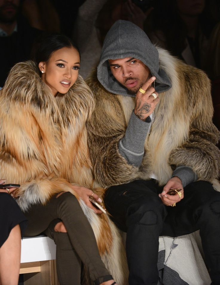 Karrueche Tran Photos: Michael Costello - Front Row - Mercedes-Benz Fashion Week Fall 2015