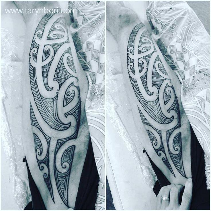 http://www.tarynberi.com Māori Art Tattoo