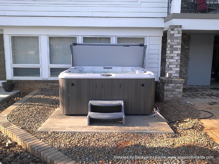 Jacuzzi J 235 On Slab Hot Tubs And Pools Installed By