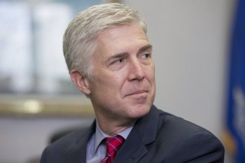"Neil Gorsuch, nominated by the president to fill the late Justice Scalia's seat, told a Democratic senator that Trump's comments were ""disheartening."""