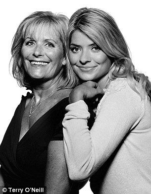 This Morning TV presenter Holly Willoughby poses with mother Lynn in 2009