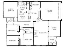 Four Bedroom Floor Plans 25+ best four bedroom house plans ideas on pinterest | one floor