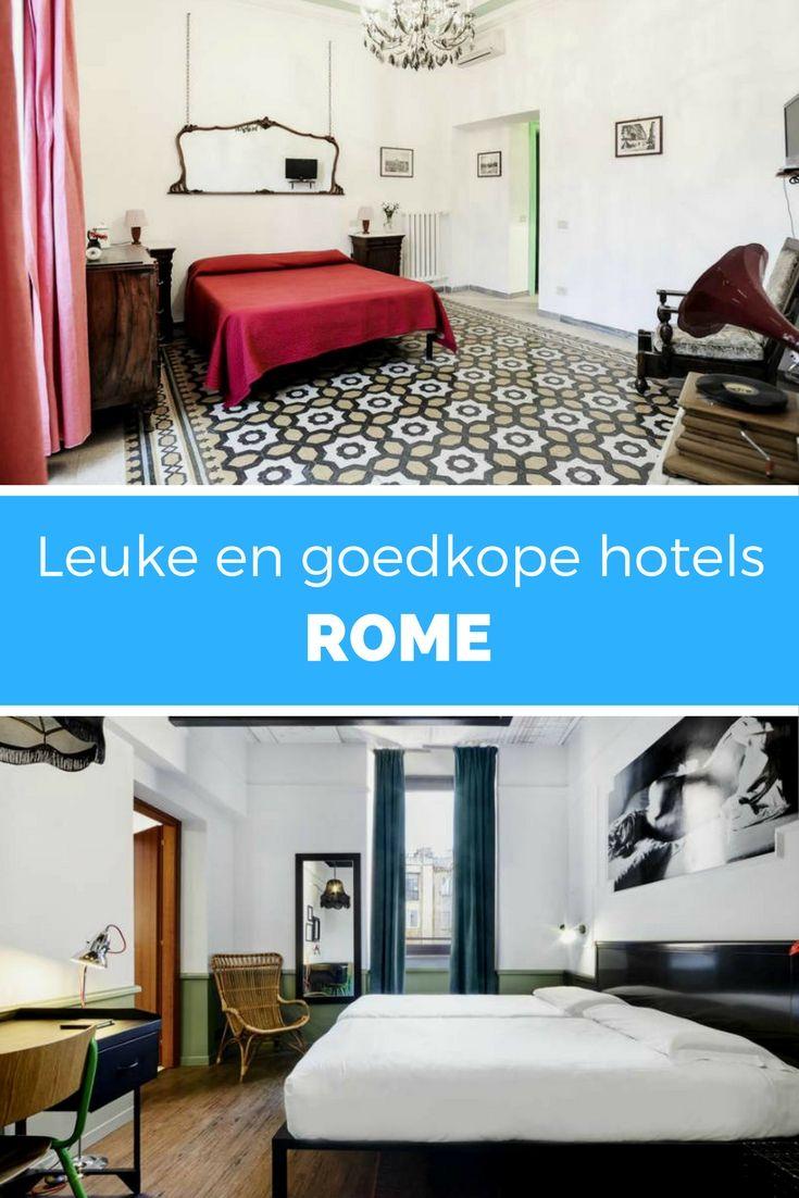 Bekijk alle leuke en goedkope hotels in Rome!