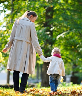 Short walks are good for your heart and a great way to add exercise to your day. Try walking your kids to and from school, or walking around the field perimeter when you're watching their soccer games. #EncourageAMom