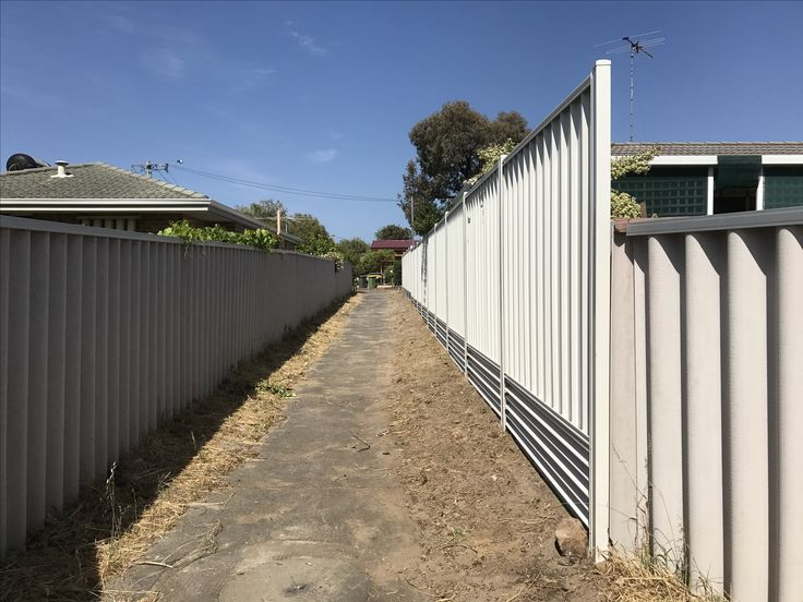 Colorbond fencing in Perth.