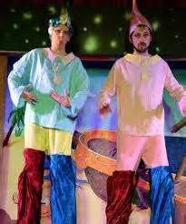 Act One Productions Touring Pantomime Stilt Walkers