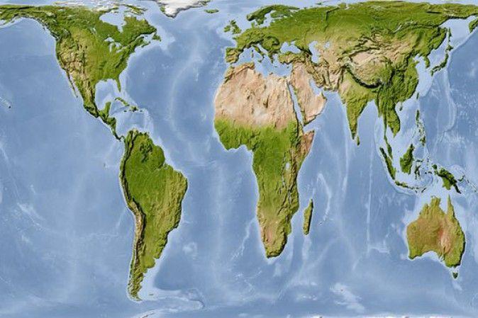 Tutte le scuole dovrebbero usare questa mappa geografica