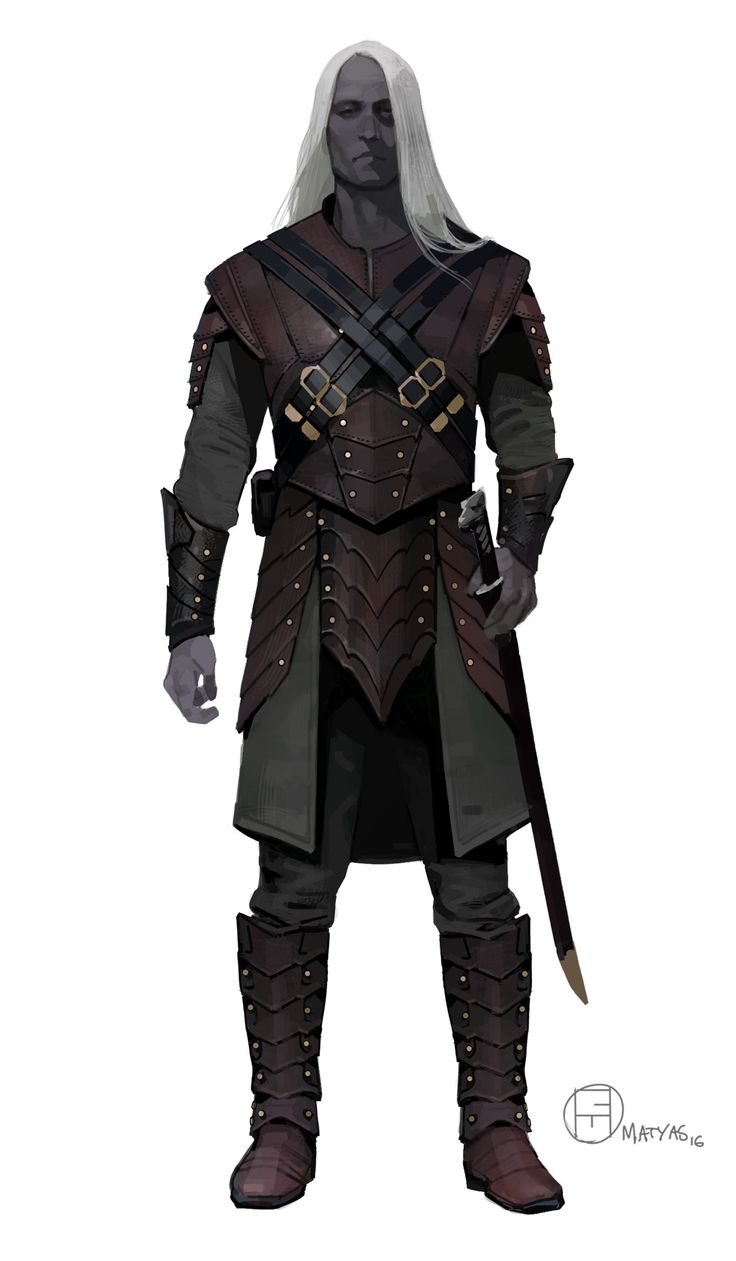 I was recently contracted by Wizards of the Coast to redesign the main character cast of Dungeons & Dragons for their latest deck as well as to work as a main reference point for the upcoming film. It was a blast to work on these, Drizzt was the first character I designed.  I consciously made more conservative decisions than with some of the other characters because of his popularity. What was fun though was improving on the shape language that already existed, making logical decisions with…