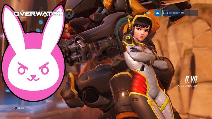 OVERWATCH - D.VA Gameplay - 6 (Another Play of the Game) Another Play of the game :) check it out #gaming #OVERWATCH #Dva #PSN #PS4 #gamer #videogames