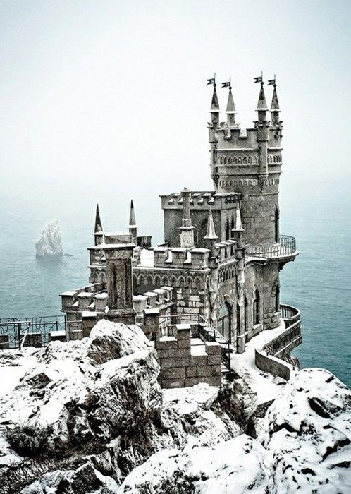 A Snowy Keep~Ukrain  I always want to know more---