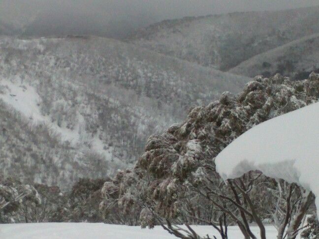 View from hotham central