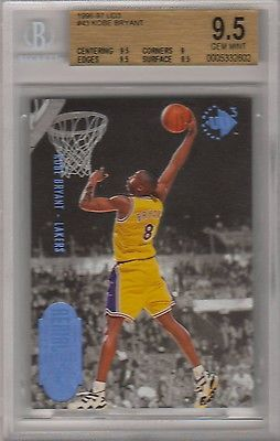 cool Kobe Bryant Lakers 1996-97 UD3 #43 Rookie RC BGS 9.5 Gem Mint - For Sale View more at http://shipperscentral.com/wp/product/kobe-bryant-lakers-1996-97-ud3-43-rookie-rc-bgs-9-5-gem-mint-for-sale/