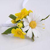 Браслет для невесты с цветами яблони. - браслет для невесты,свадебный браслет