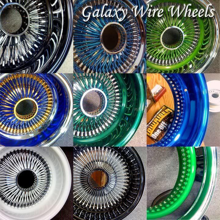 Galaxy Wire Wheels Orlando FL Distributor