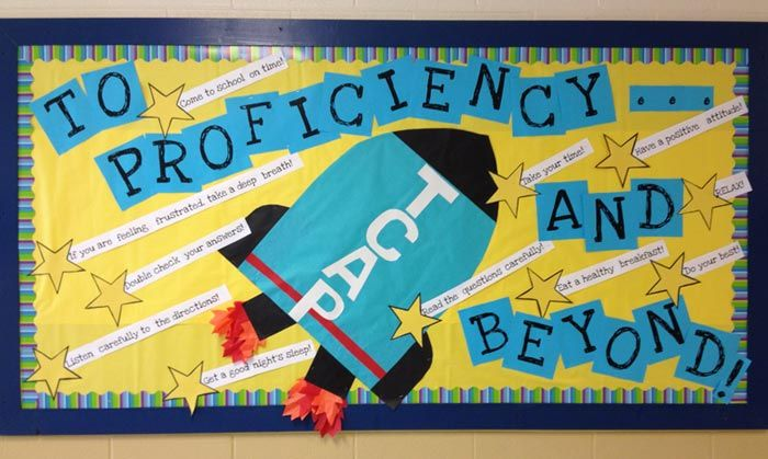 Test Profiency and Beyond! Test Taking Bulletin Board-  Though I don't teach in Tennessee, nor do I teach a grade that would take TCAP, I LOVE this!