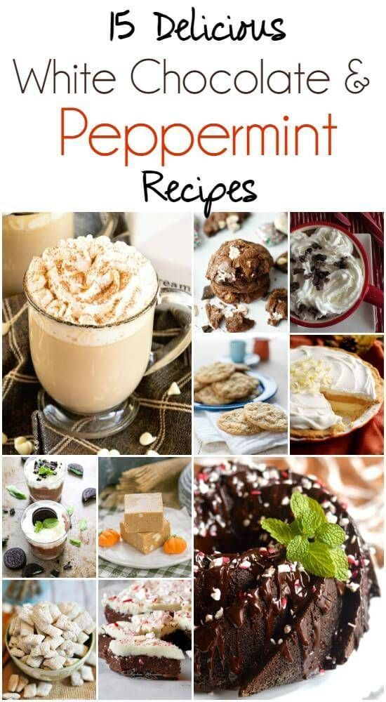 Peppermint or White Hot Chocolate Recipes! Perfect for Christmas
