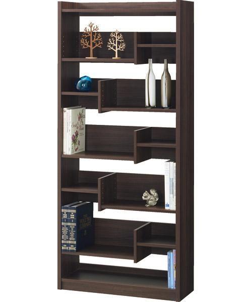 オープン書棚(ボビー DBR): オフィス家具・本棚・文房具 - 【ニトリ】公式通販 家具・インテリア通販のニトリネット