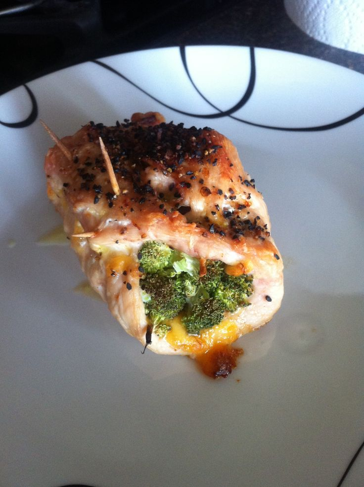 Broccoli Cheddar Chicken (21 Day Fix Approved) 2 reds, 1 green and 1 blue