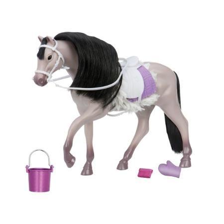 Лошадь LORI серая Андалузская - купить, Лошадь LORI серая Андалузская цена в интернет магазине детских товаров и игрушек «Детский Мир»