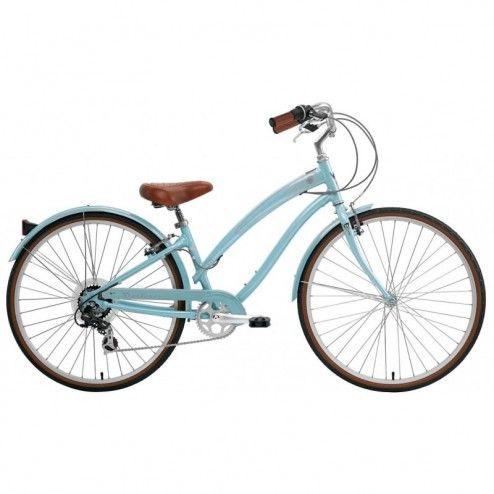 Bicicleta Nirve Starliner 7V Feminina - Powder Blue