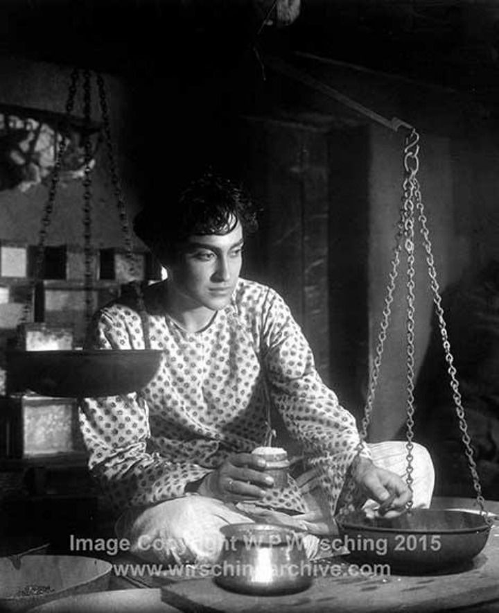 Publicity still of a very young Ashok Kumar in the Bombay Talkies Film studios' classic Achhut Kanya 1936 | The Vintage Photo Archive of Indian Film Industry