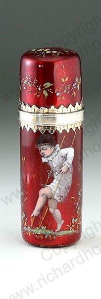 Rare Antique c1870 French perfume bottle, via Richardhoppe
