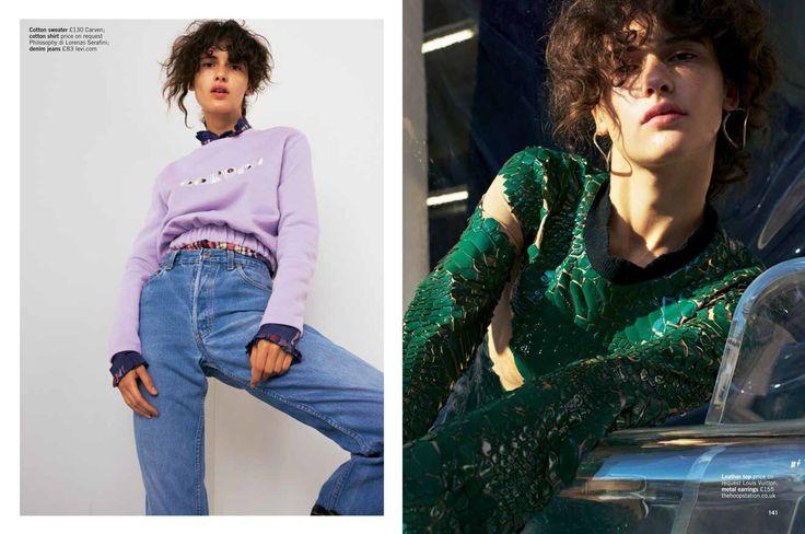 New fashion story for Glamour Uk January 2016 | DAISY