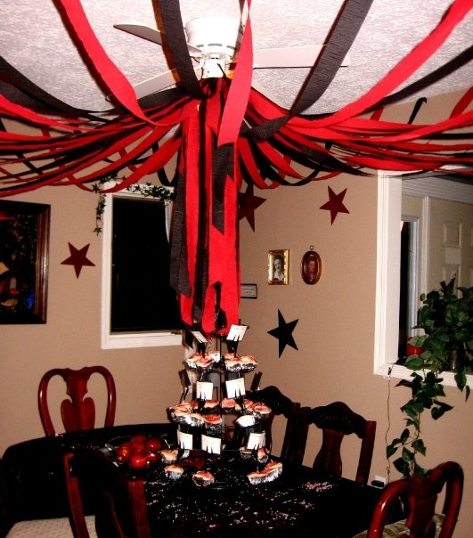 17 images about birthday theme twilight on pinterest for Decor using crepe paper