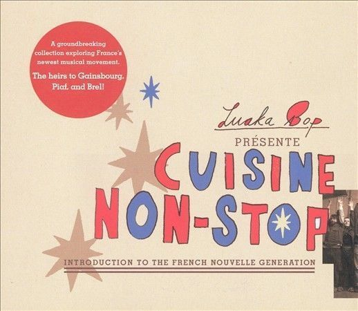 FREE SHIPPING 1 CENT CD: Cuisine Non-Stop: French Nouvelle Generation - NEW #ExperimentalRock