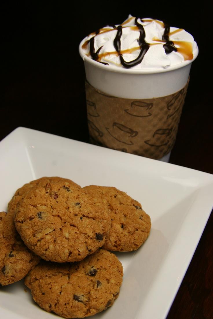 Gourmet PPCF cookies and fresh brewed gourmet coffee!!