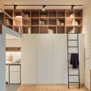 A+Little+Design+maximises+space+in+tiny+22-metre-square+Taiwan+apartment