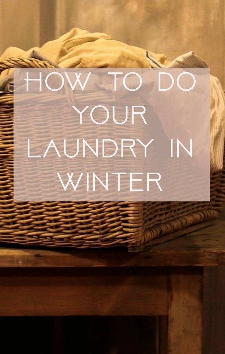 How to do your laundry in Winter. Doing your washing in winter can be a real pain. here are some top laundry tips for those chilly days!