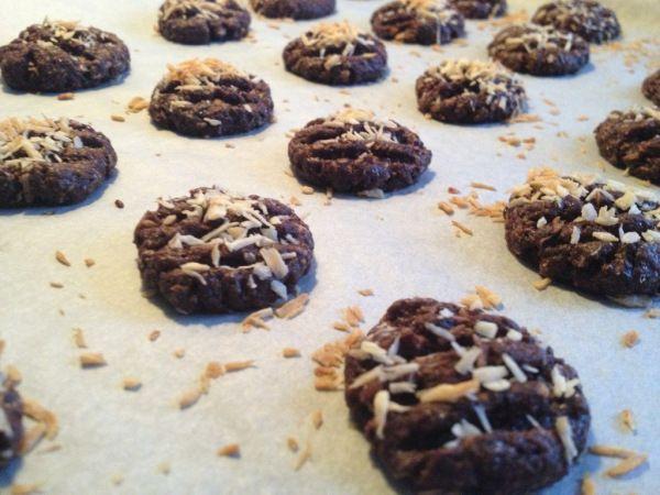 Choko-kokos småkager