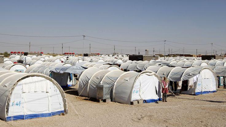 الحكومة العراقية ترفض استقبال مزيد من اللاجئين السوريين