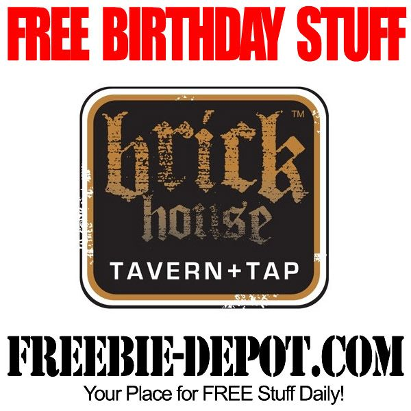 FREE BIRTHDAY STUFF – Brick House Tavern + Tap - FREE BDay Cheeseburger