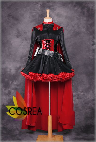 RWBY Ruby Rose Limited Edition Cosplay Costume Set - Cosrea  - 1