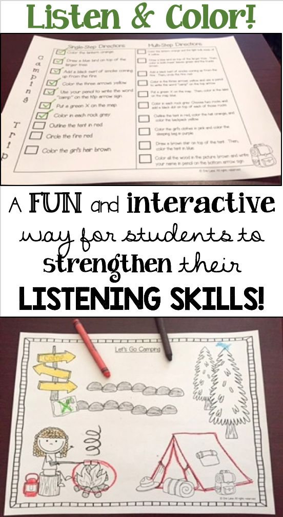 Students love to practice listening skills with this fun, weekly activity! Use it for practice or use the included tools for assessment, too! $