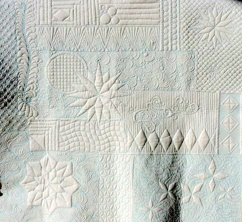 Beautiful sampler by Patricia Roland using my Ultimate Stencils!  https://www.cindyneedham.com/collections/stencils