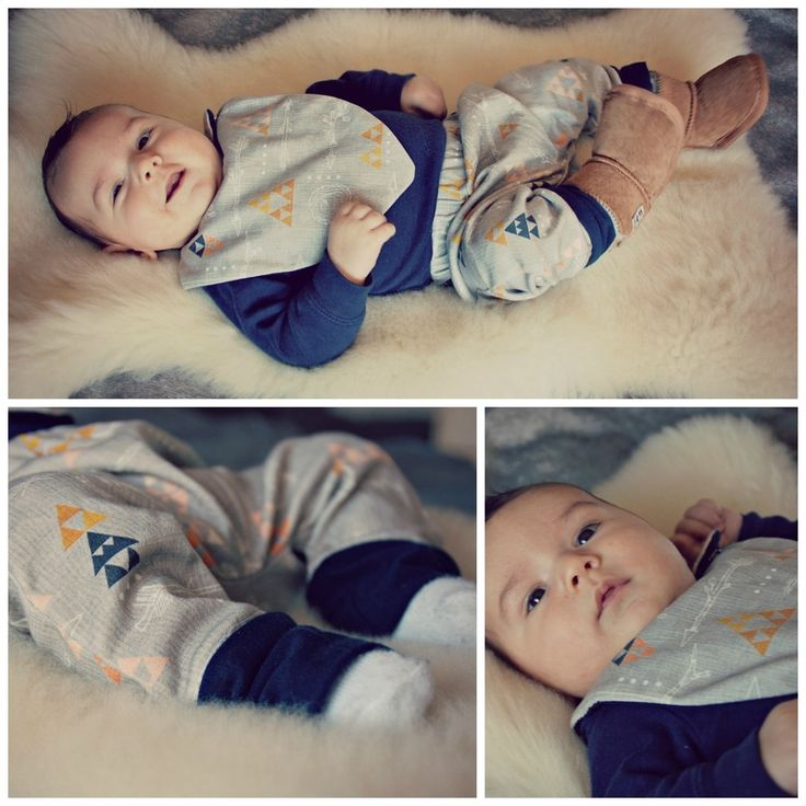 Baby Bottoms & Bib - Wooden Arrows #babyfashion #DIY #creativelyinclined