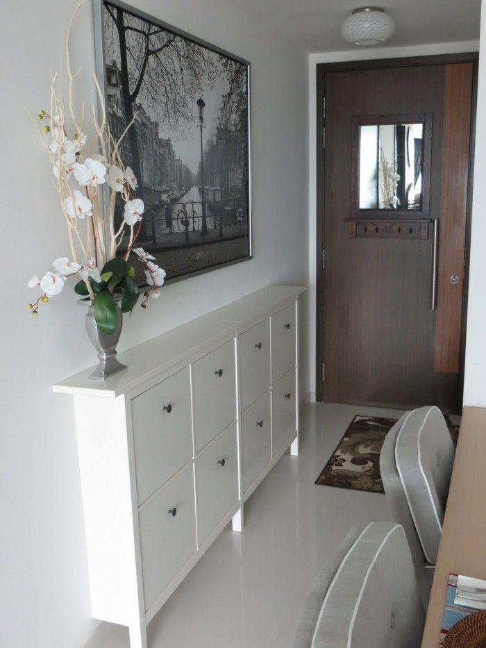 1001 Idees De Couloir Etroit Avec Design Optimal En 2020 Grand Meuble Idee Deco Couloir Mobilier De Salon