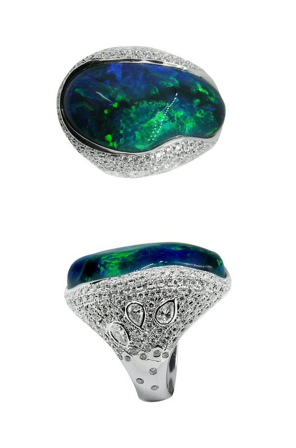 38 best Australian Black Opal Jewelry images on Pinterest