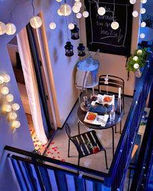 A casa di Ale: Il balcone, il nostro angolo di magia