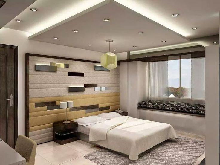 Modern Bedroom Ceiling 42 Fabulous Modern Bedroom Ceiling Designs 2018 Ceiling Design Bedroom Ceiling Design Living Room Ceiling Design Modern
