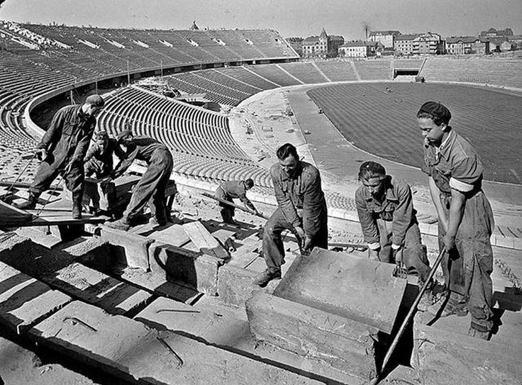 1952. A Népstadion építése