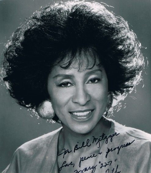 "Marla Gibbs (born Margaret Theresa Bradley), television and film actress and singer. In her 5 decades of television, she is probably best remembered for playing ""Weezie"" and George Jefferson's sarcastic maid, Florence Johnston, on The Jeffersons and its spinoff, Checking In. She also starred as Mary Jenkins on the television series 227. She recently appeared in the film Madea's Witness Protection, and currently plays ""Grandma Eddy"" on the sitcom The First Family."