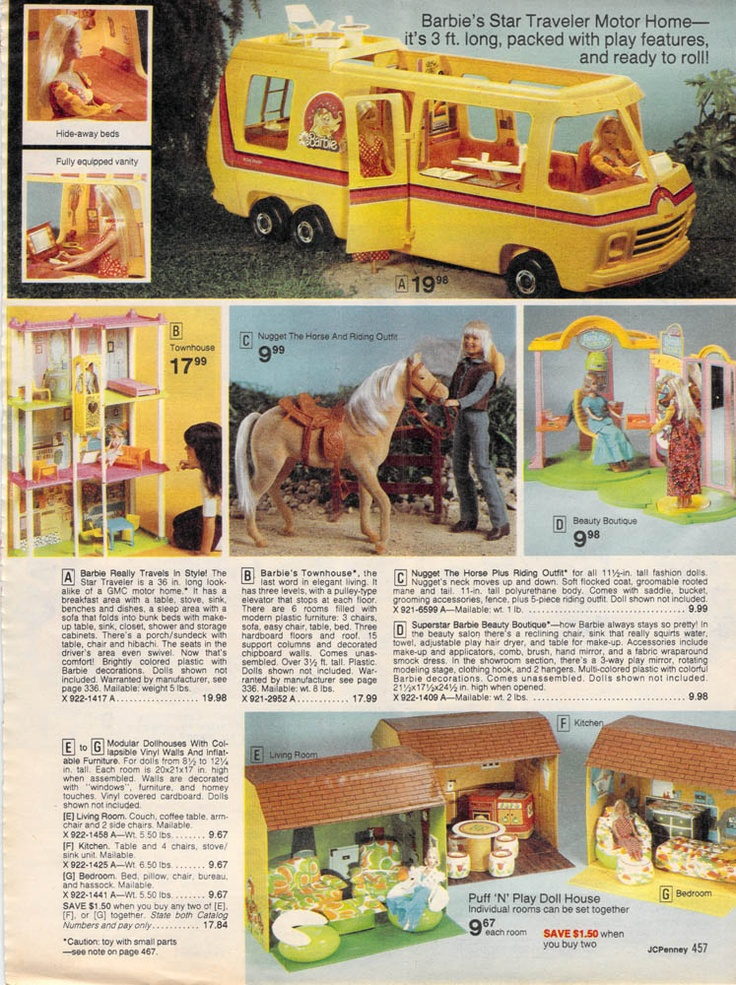 I know I already pinned the motor home  but to see it in the catalog.. so much better.