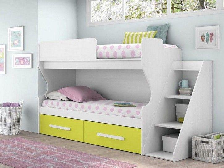 17 mejores ideas sobre escaleras para literas en pinterest for Habitaciones juveniles completas baratas