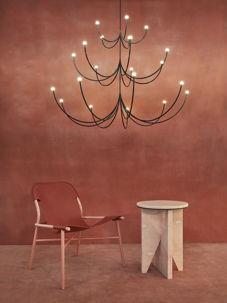 Matter Made - Arca Chandelier - Ohayo Lounge - Affordances Table