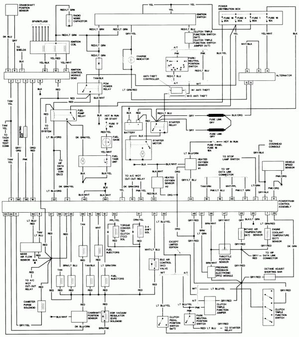 1996 ford explorer engine wiring diagram and solved: need wiring diagram  for ford explorer fuel pump - fixya | ford explorer, ford explorer sport,  ford ranger  pinterest