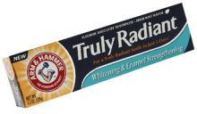 Get a #free #sample of Arm and Hammer's Truly Radiant Toothpaste while supplies last!